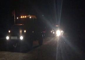 Azerbaijan Army enters Lachin region