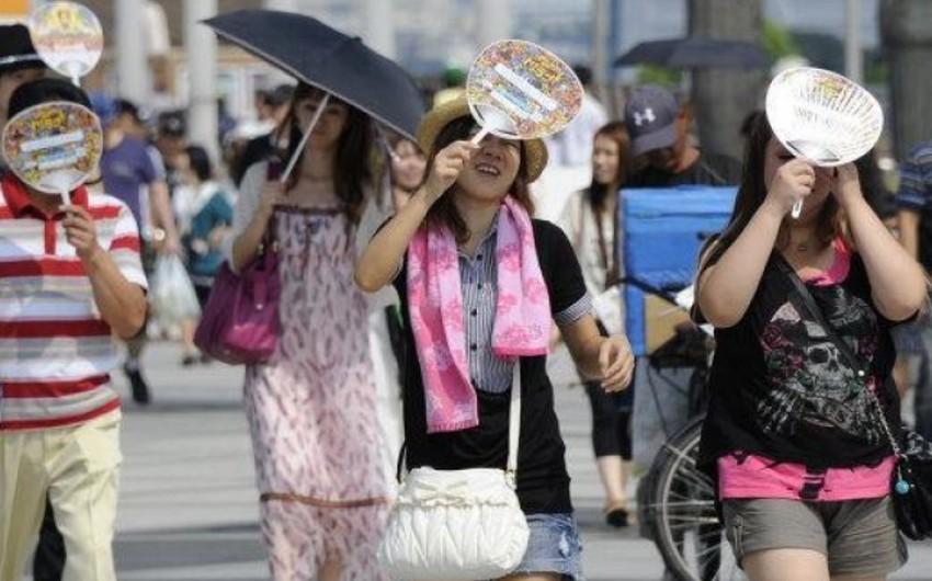 Yaponiyada 5 nəfər günvurmadan ölüb