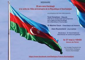 France hosts virtual conference on Karabakh