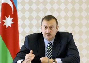 Azerbaijani President: Unrepaired schools number decreasing in regions