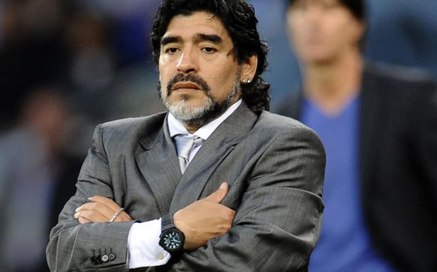 Dieqo Maradona FİFA-nın yeni prezidentini xain adlandırıb