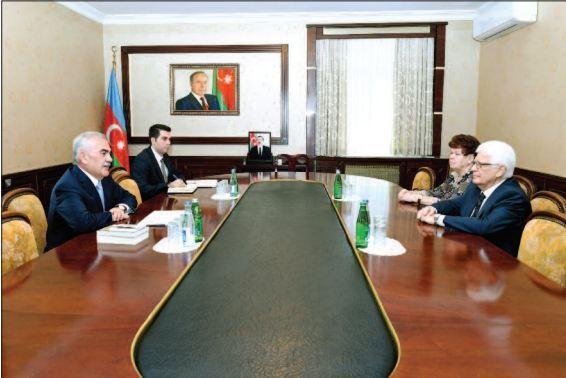 Васиф Талыбов встретился с послом РФ в Азербайджане Михаилом Бочарниковым