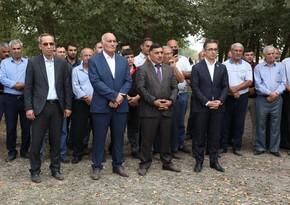 """Azəriqaz"""" Sabirabad rayonunun kəndində """"Açıq mikrofon"""" aksiyası keçirib"""