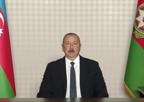 Azerbaijani president reconfirms readiness for dialogue with Armenia