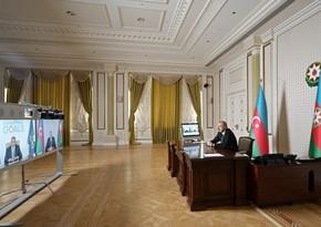 Президент Азербайджана и генсек ВТООН провели видеоконференцию