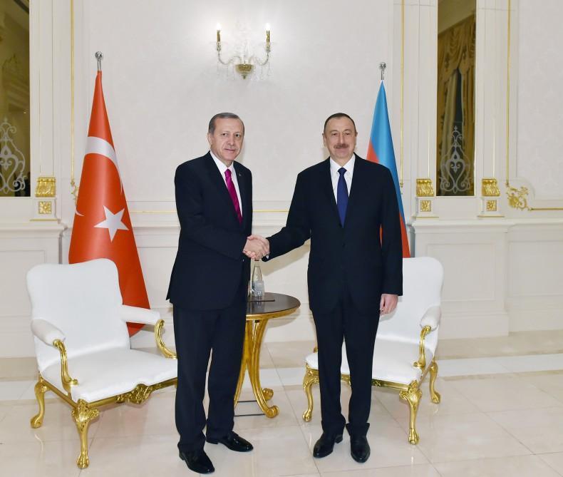 Эрдоган направил письмо президенту Азербайджана
