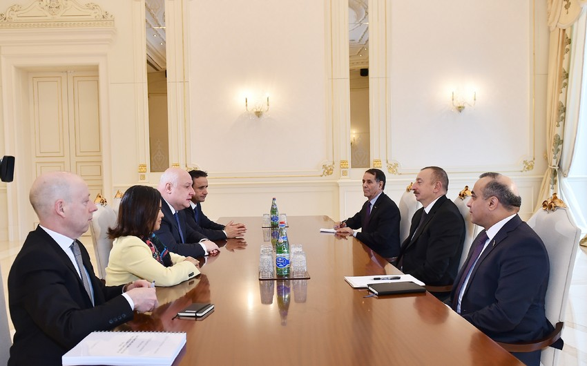 President Ilham Aliyev received Chairman of OSCE Parliamentary Assembly