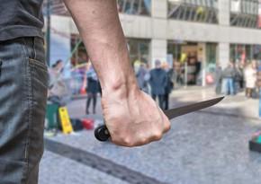 Şəmkirdə dava zamanı iki nəfər bıçaqlanıb