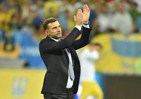 Андрей Шевченко покинул пост главного тренера сборной Украины