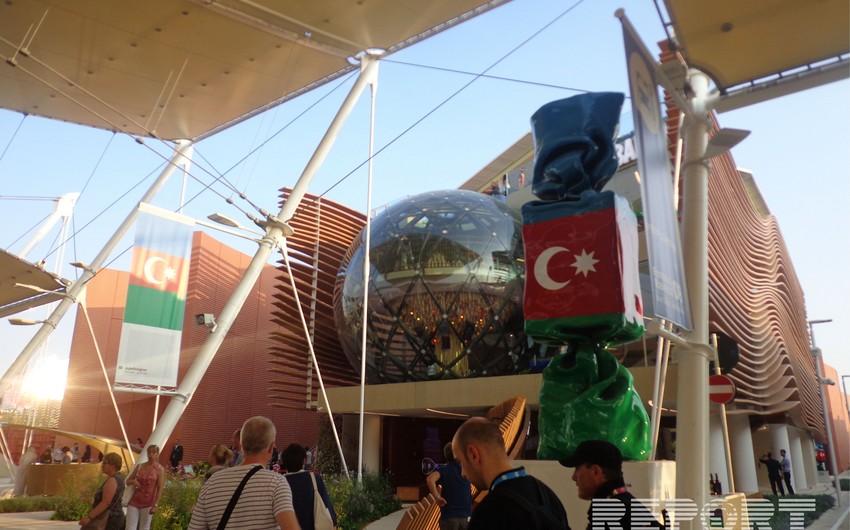 Milanda keçirilən EXPO-2015 sərgisində Azərbaycan pavilyonu - FOTOREPORTAJ