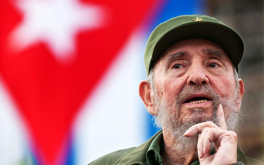 Fidel Kastro vəfat edib