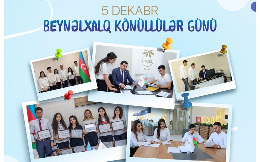 KOBİA 7 könüllü gənci işlə təmin edib