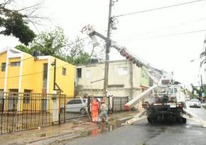 Более 1 млн доминиканцев остались без электричества из-за шторма Laura