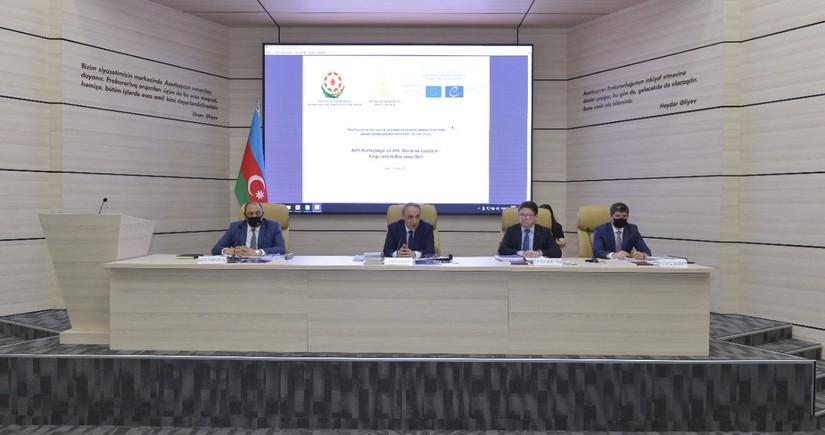 Azərbaycan Baş prokuroru yanında Elmi-Məsləhət Şurasının iclası keçirilib