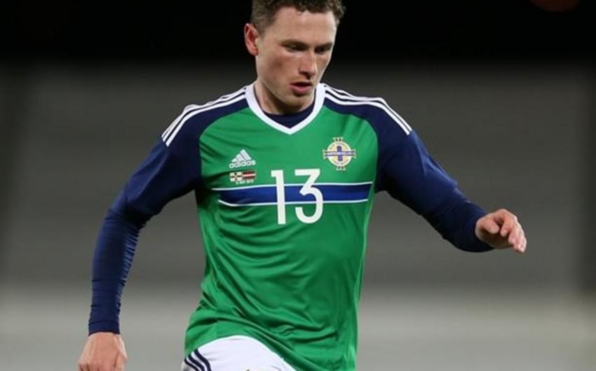 Şimali İrlandiya millisinin futbolçusu Azərbaycan yığmasına qarşı oynamayacaq