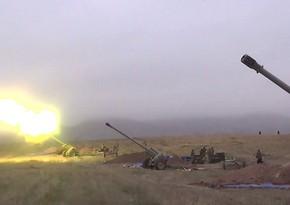 Минобороны Азербайджана распространило видеокадры о ходе Отечественной войны