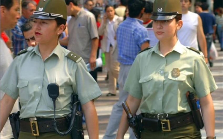 Çilidə qarışıqlıqlar zamanı 2200-dən çox polis xəsarət alıb