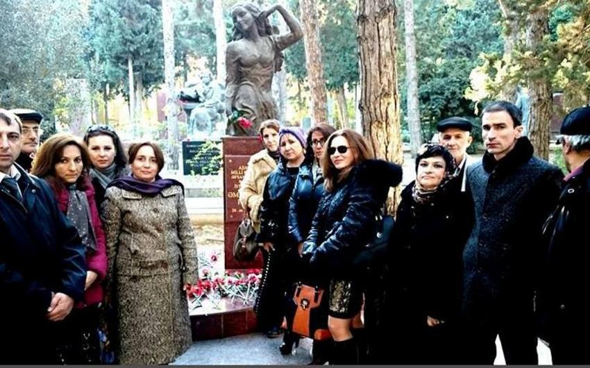 В Баку отметили 95-летие Амины Дильбази