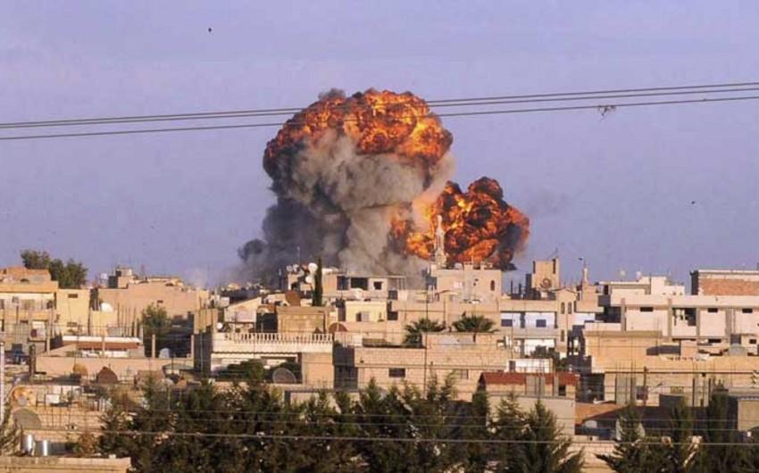 Suriyada terrorçuların komanda məntəqələri məhv edilib