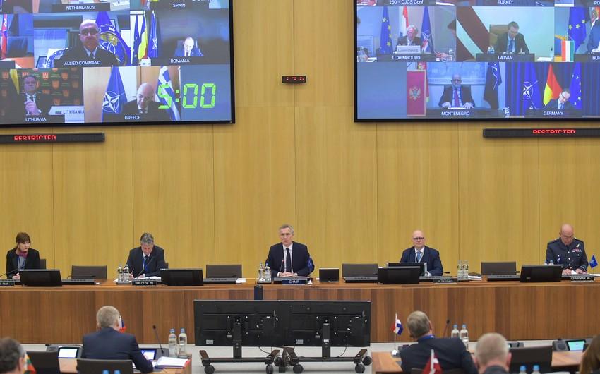 Главы МИД и Минобороны стран НАТО проведут экстренную видеоконференцию