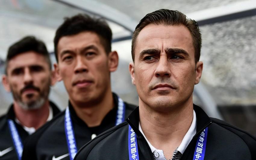 """Fabio Kannavaro Çinin """"Quançjou Everqrand"""" komandasının baş məşqçisi təyin edilib"""