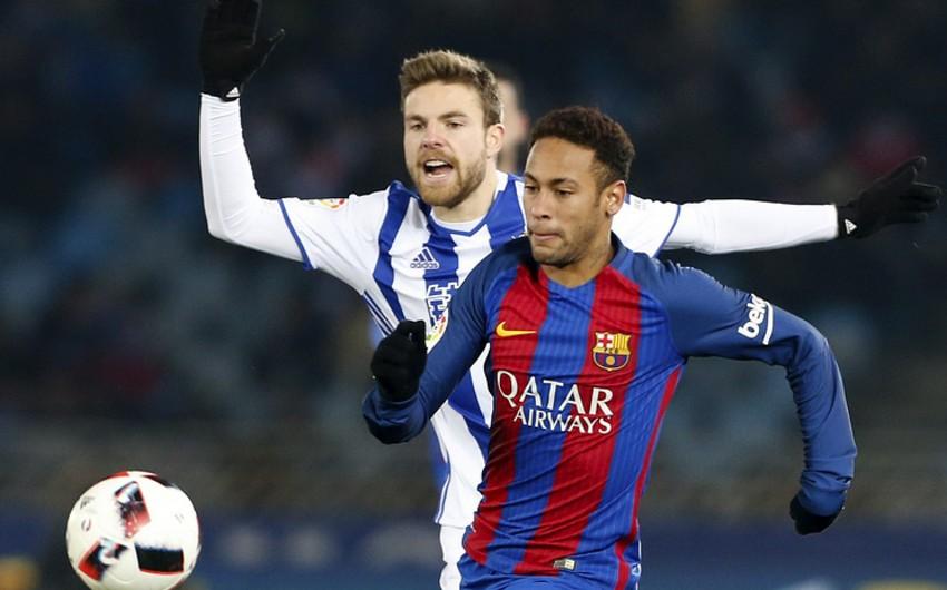 Барселона обыграла Реал Сосьедад в первом матче 1/4 финала Кубка Испании - ВИДЕО