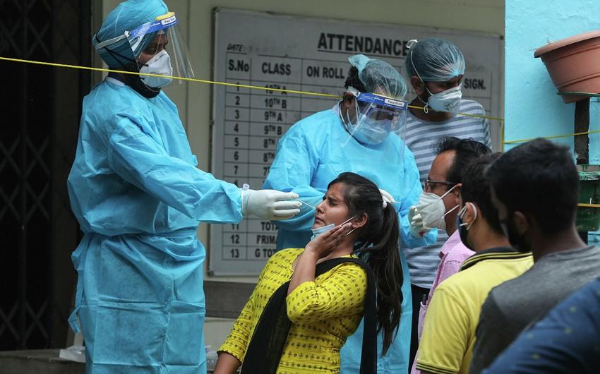 Hindistanda koronavirus qurbanlarının sayı 400 min nəfəri keçib