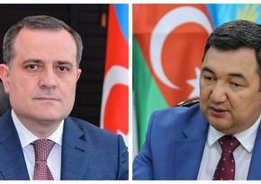 Ceyhun Bayramov Beynəlxalq Türk Akademiyasının prezidenti ilə danışıb