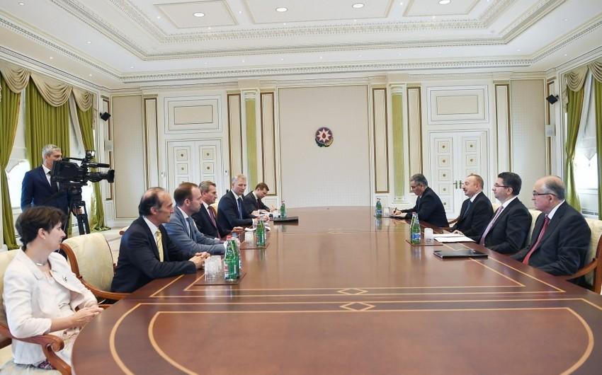 President Ilham Aliyev received European Commission delegation