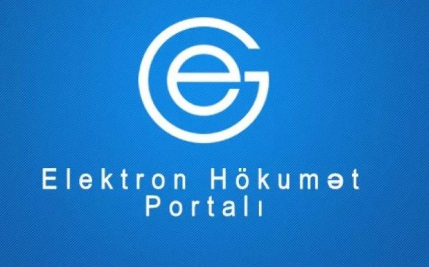 """""""Elektron hökumət"""" portalına qoşulmalı olan informasiya sistemləri və ehtiyatlarının siyahısı artırılıb"""