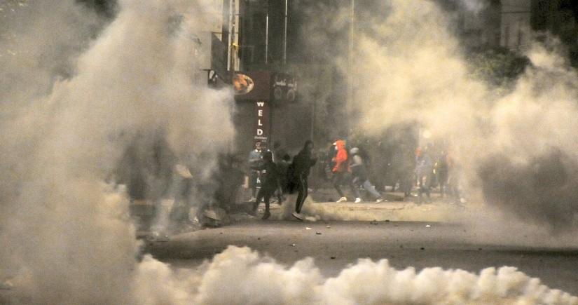 Tunisdə 1 200-dən çox nümayişçi saxlanılıb