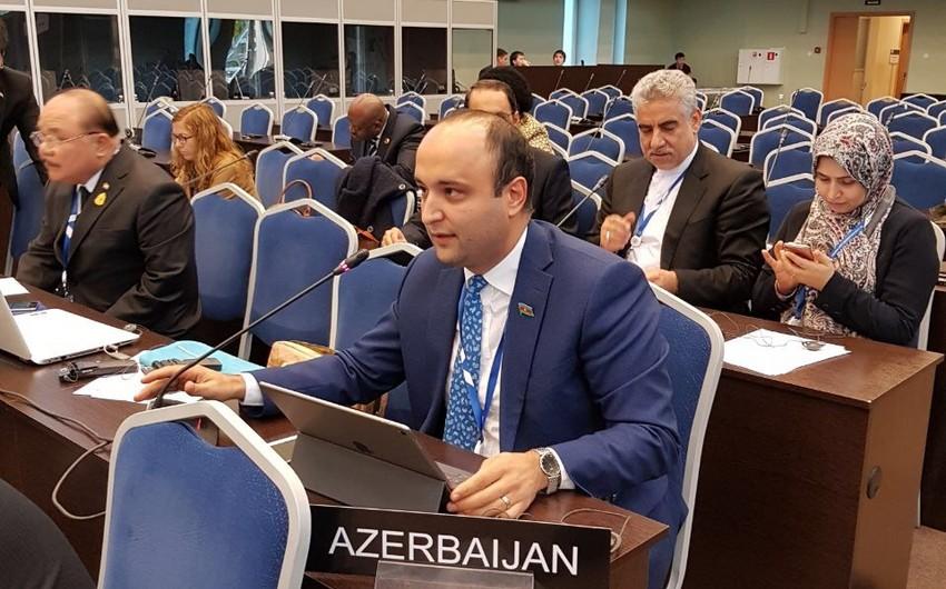 Milli Məclisin deputatı Sankt-Peterburqda Parlamentlərarası İttifaqın komitə iclasında iştirak edib