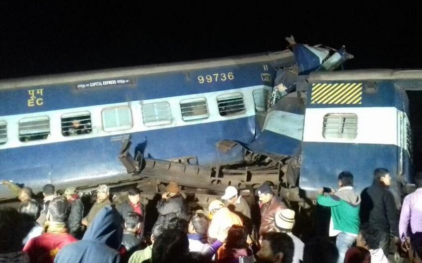 Hindistanda qatarın relsdən çıxması nəticəsində 2 nəfər ölüb - YENİLƏNİB