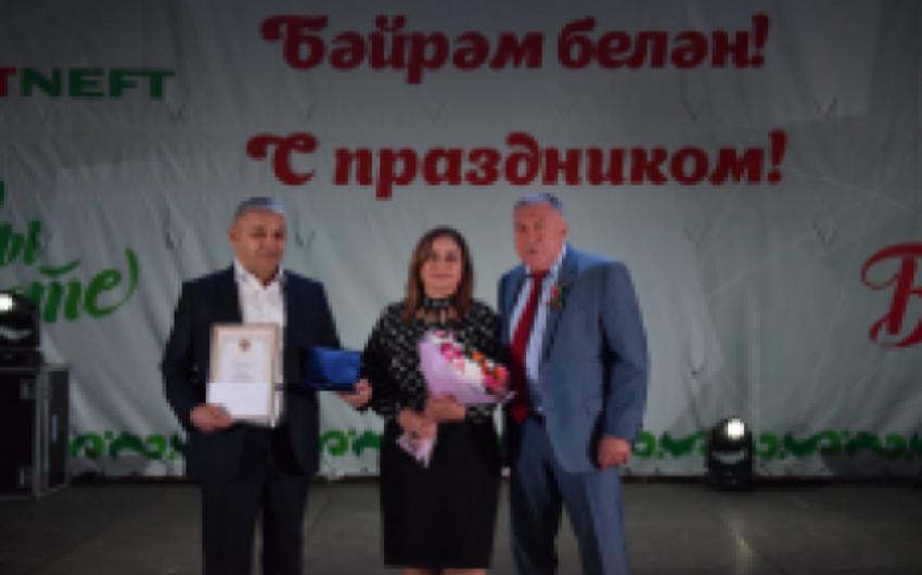 Tatarıstanda Azərbaycan diaspor üzvləri mükafatlandırılıblar