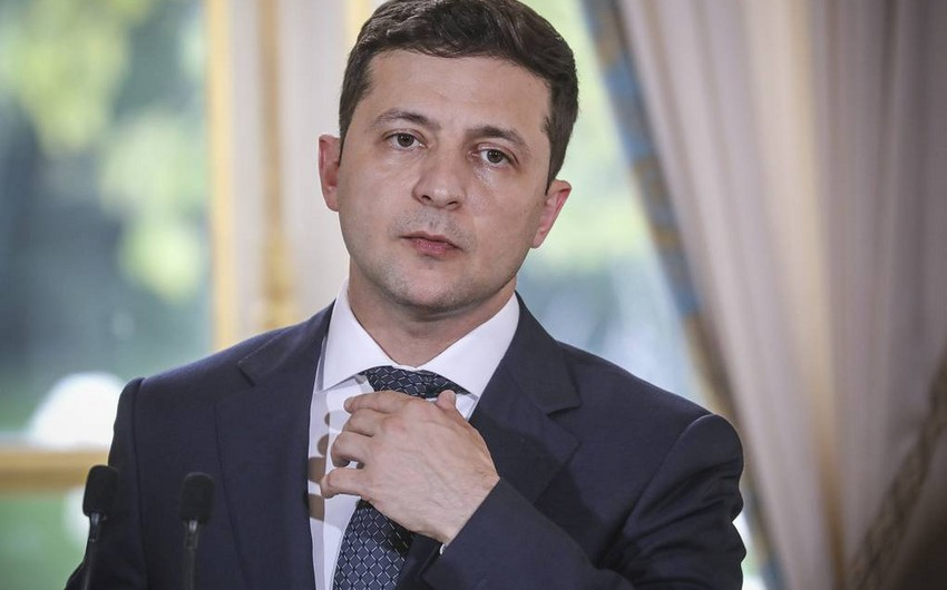 Ukrayna prezidenti erməni nazirə ilin sonunadək vaxt verib