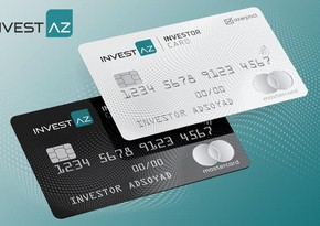 """""""InvestAZ"""" """"INVESTOR CARD""""ı yeni dizayn və üstünlüklərlə təqdim edib"""