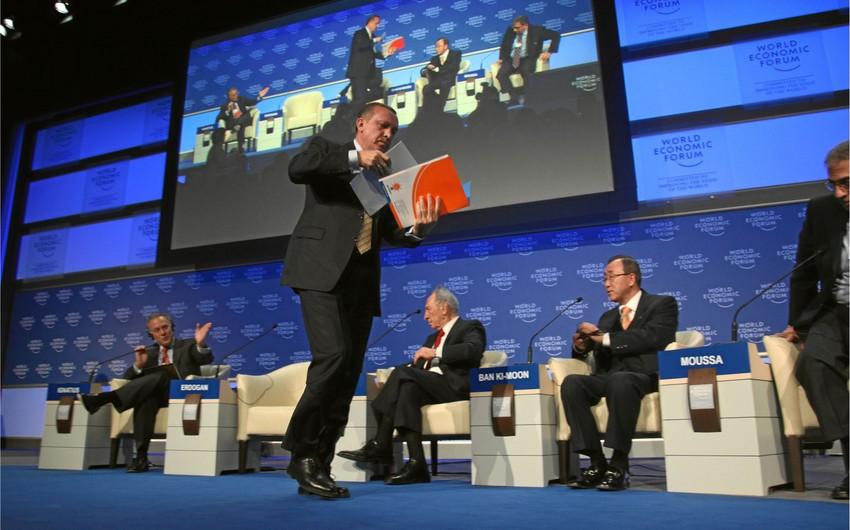 Türkiyənin baş naziri one minutedan sonra ilk dəfə Davosa gedəcək