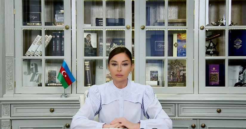 Mehriban Aliyeva shares footage from gala concert of Kharibulbul music festival