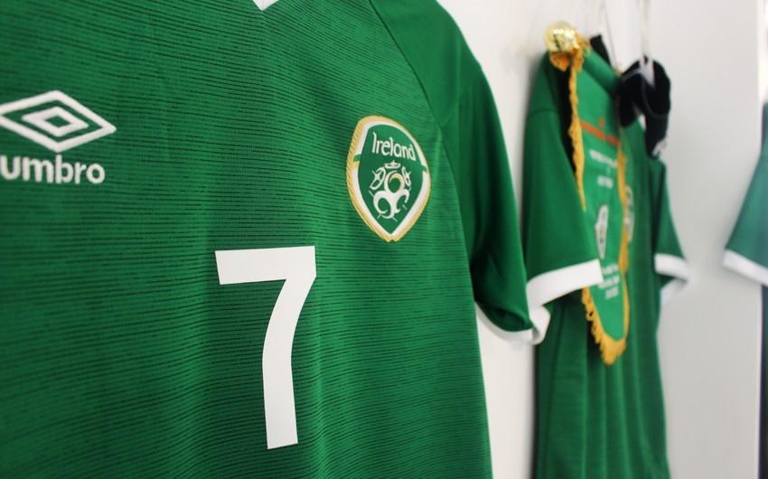 İrlandiya yığması Azərbaycan millisi ilə oyun üçün heyətini açıqlayıb