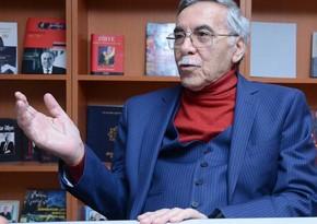 Azərbaycanın tanınmış yazıçı-dramaturqu vəfat edib