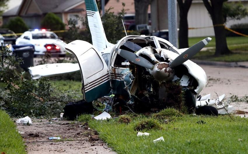 В Чехии разбился самолет