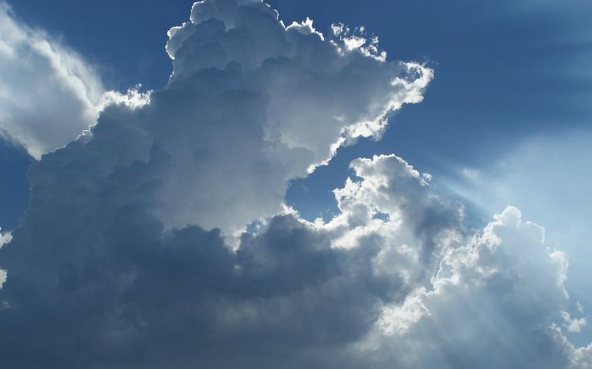 Sabah Bakıda hava dəyişkən buludlu, yağmursuz olacaq