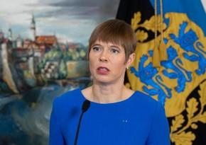 Estoniya prezidenti hökumətin yeni tərkibini təsdiqləyib