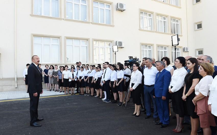 """Azərbaycan Prezidenti: """"Yaşadığımız regionda bizim siyasətimizdən, qərarımızdan çox şey asılıdır"""""""