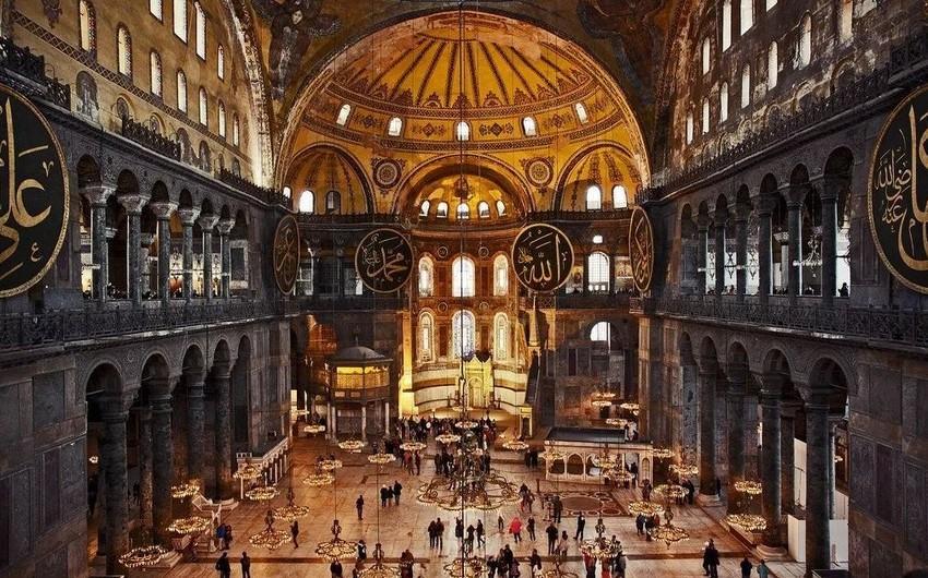 Эрдоган предложил сменить статус собора Святой Софии на мечеть
