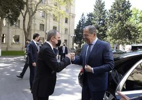 Ceyhun Bayramov və Lavrovun görüşünün təfərrüatı açıqlandı