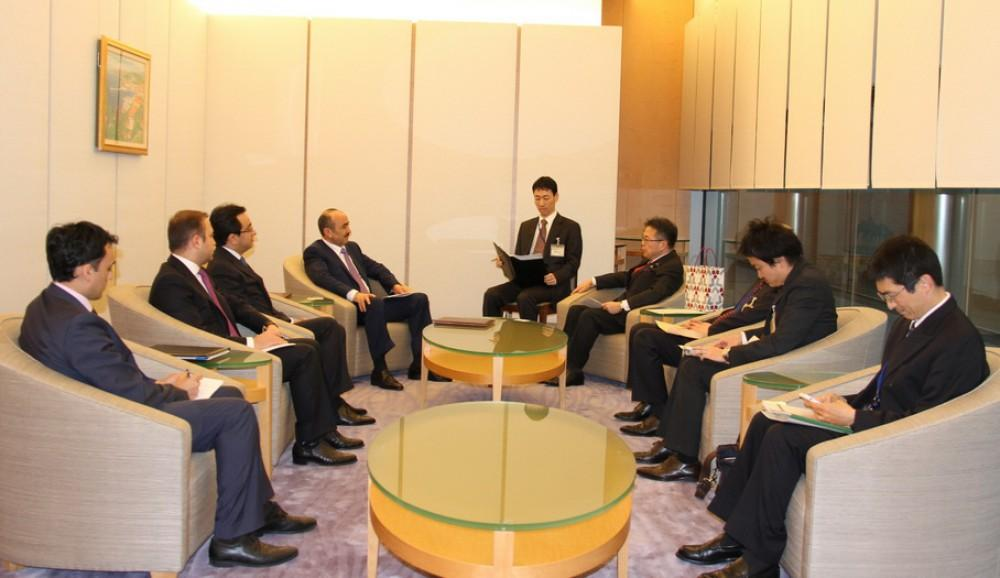 Presidential Aide calls on Japanese companies to Caspian gas initiative
