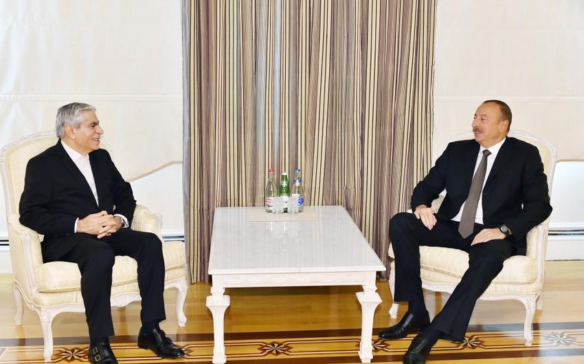 Azərbaycan Prezidenti Qaz İxrac edən Ölkələrin Forumunun baş katibini qəbul edib - YENİLƏNİB