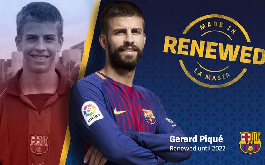 Жерар Пике продлил контракт с Барселоной