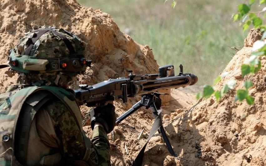 Армяне нарушили режим прекращения огня 22 раза за сутки
